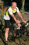 Sponsored Cyclist ex-nurse Barry (source: tprf.org)