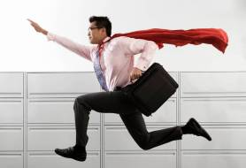 leader as superhero