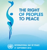 UN2014 peace day logo