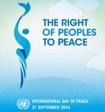 UN2014 peace day logo